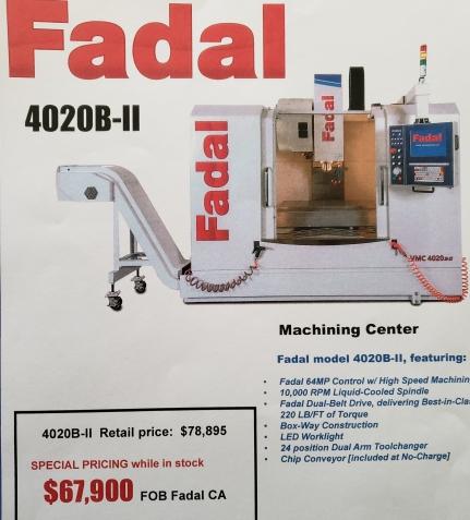 Fadal Flyer